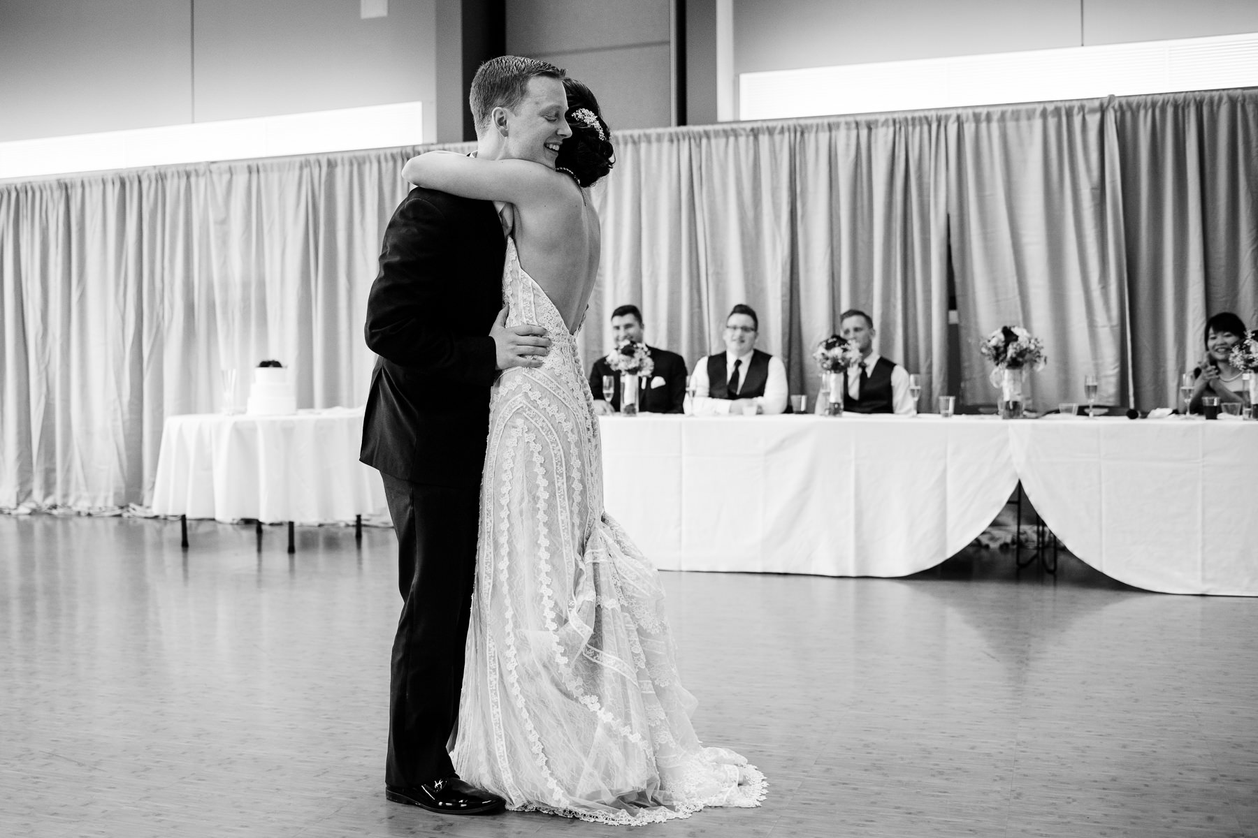 mercer island community event center wedding first dance