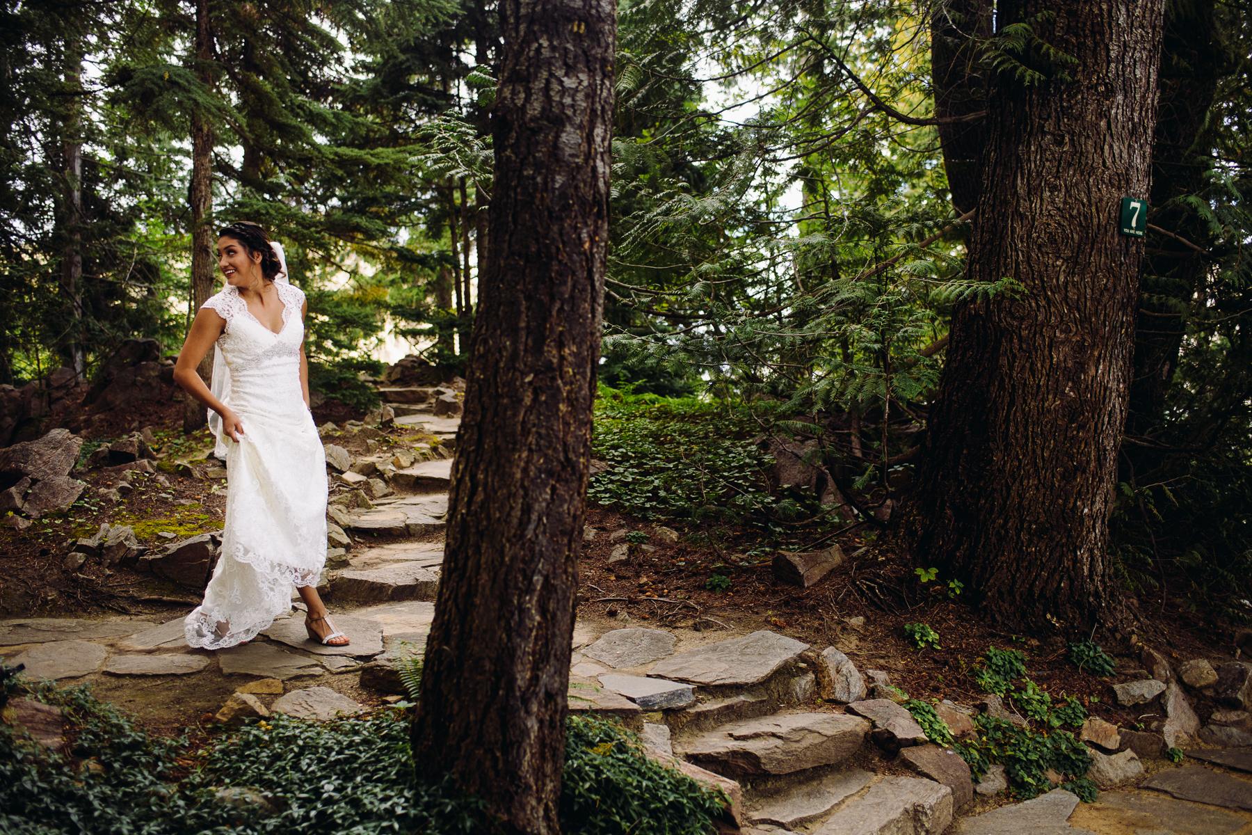 wenatchee ohme gardens bride