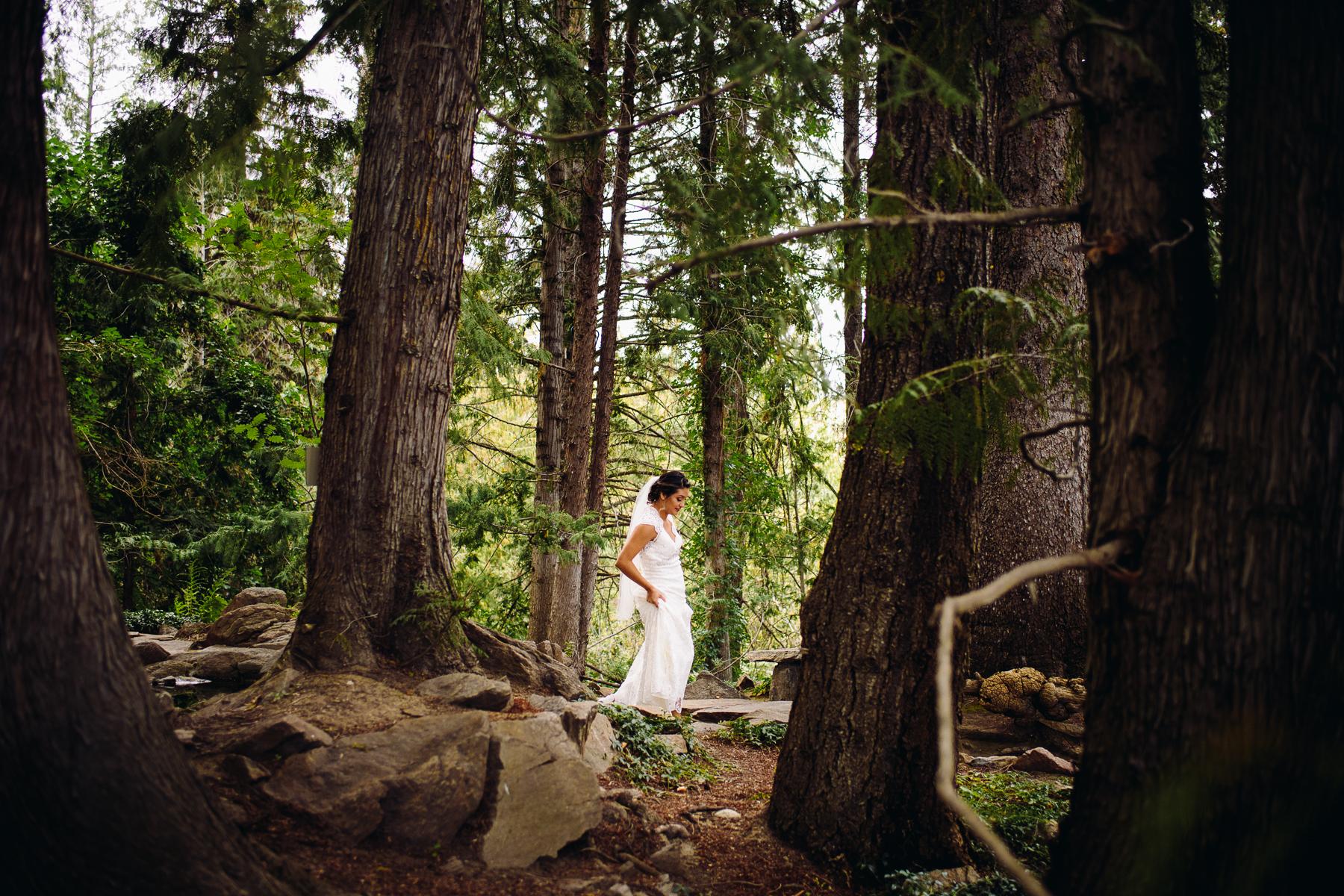 home gardens bride