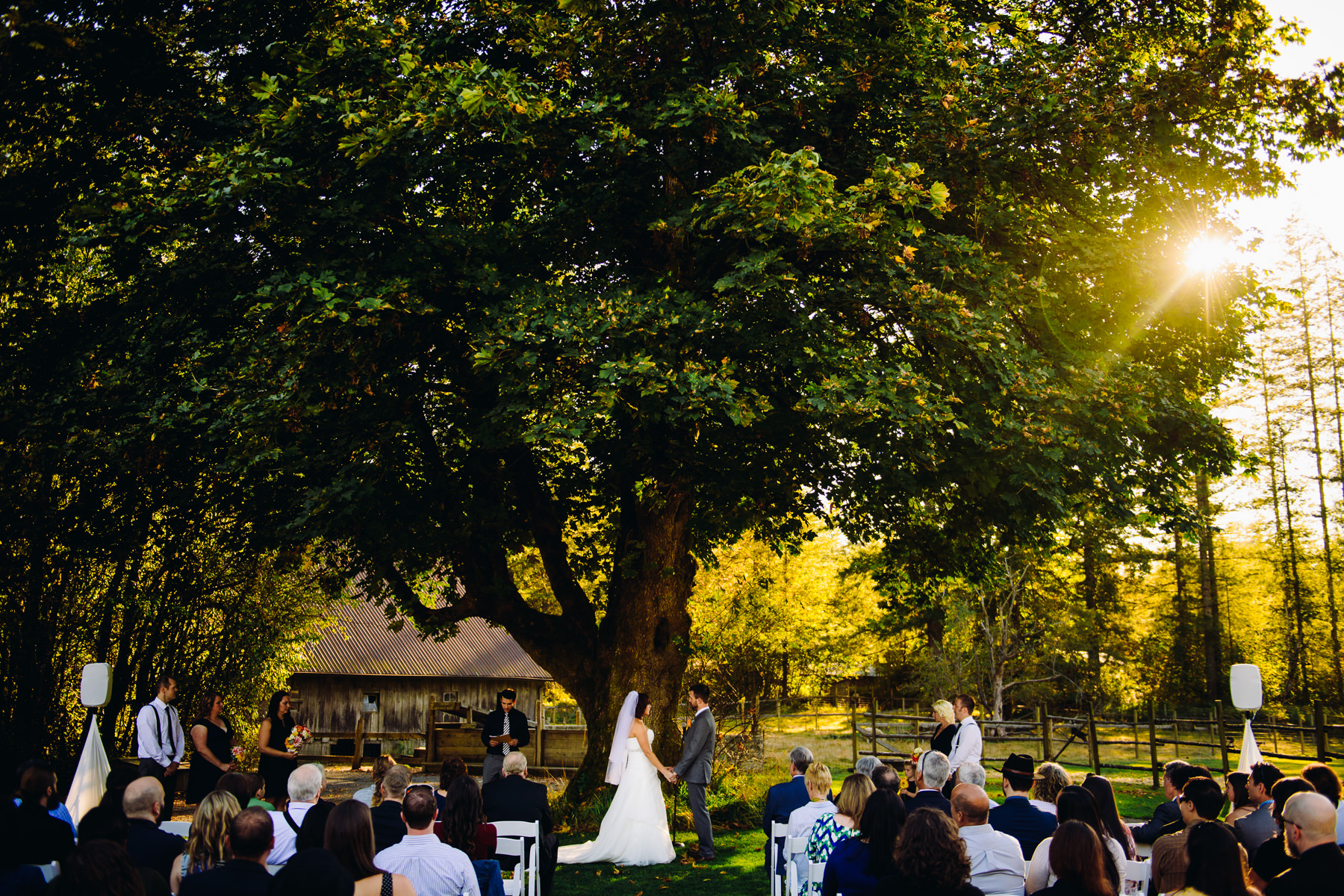 Pomeroy Farms Wedding Ceremony