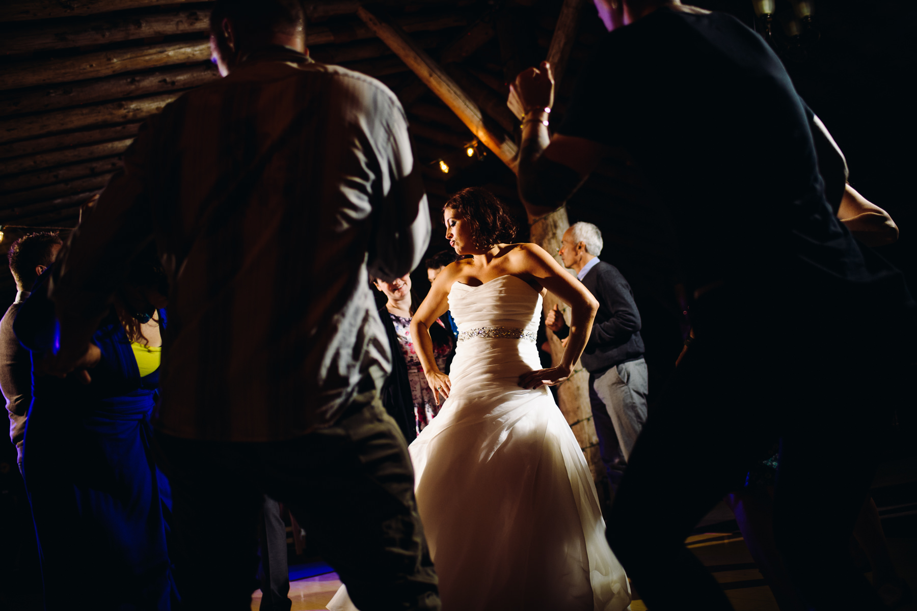 pomeroy farm bride dancing