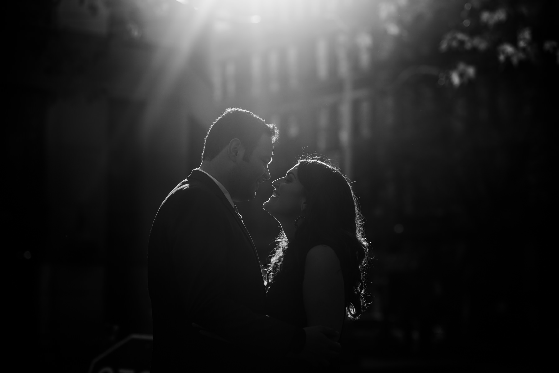 pioneer square sunset wedding photos