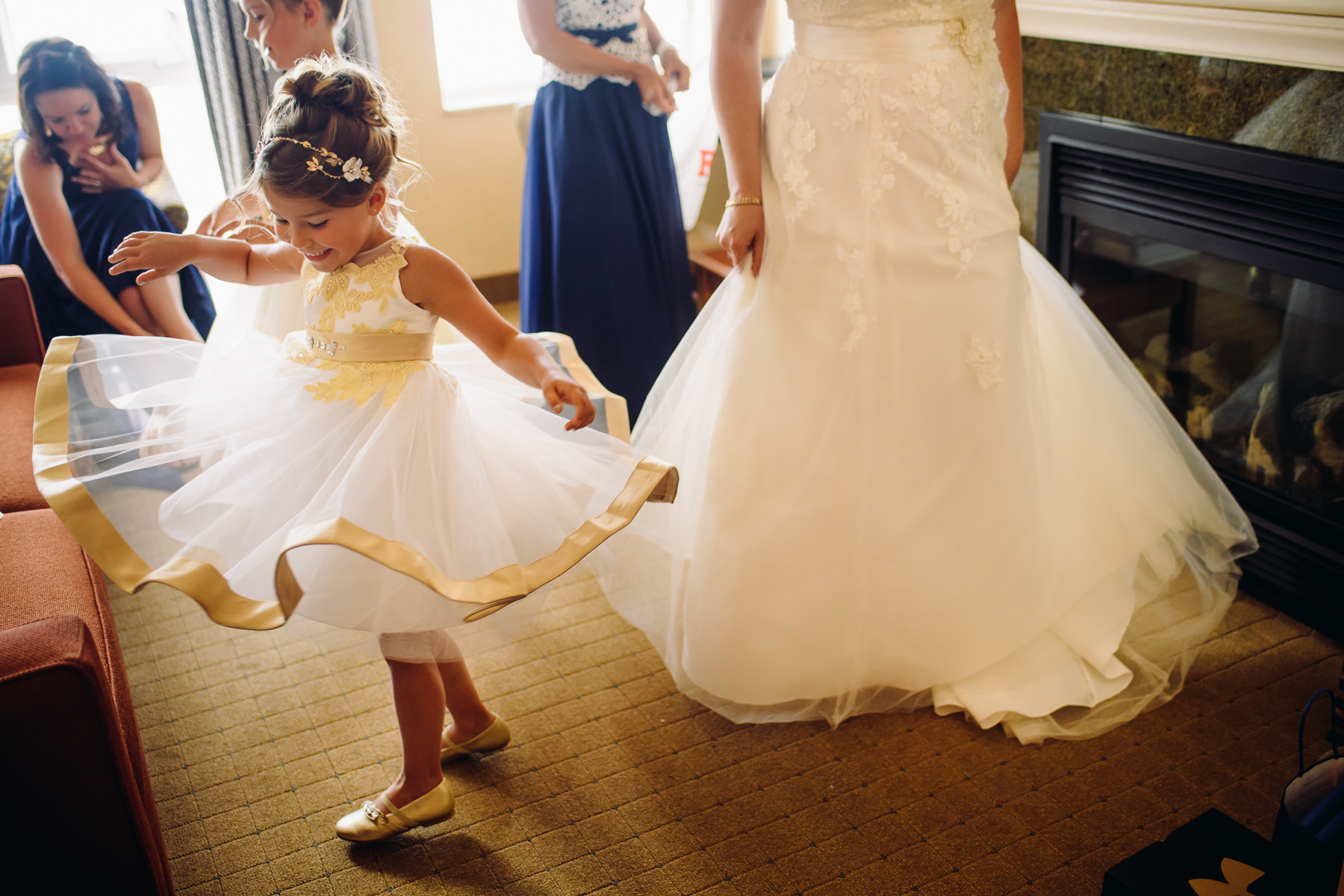flower girl moments
