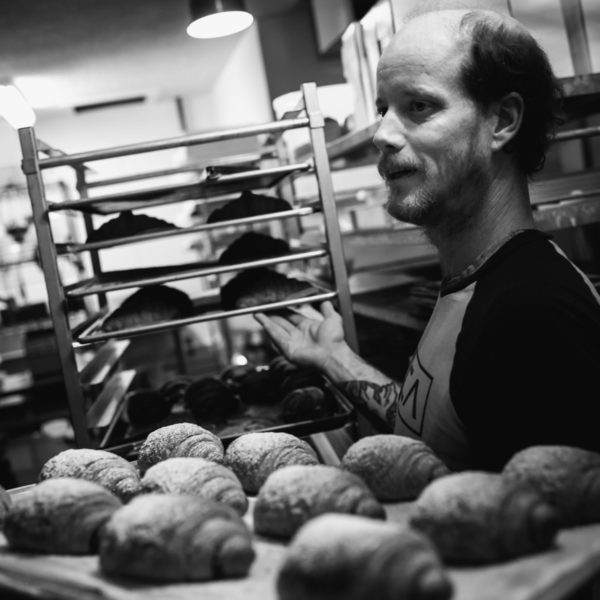 Matt Tinder of Saboteur Bakery