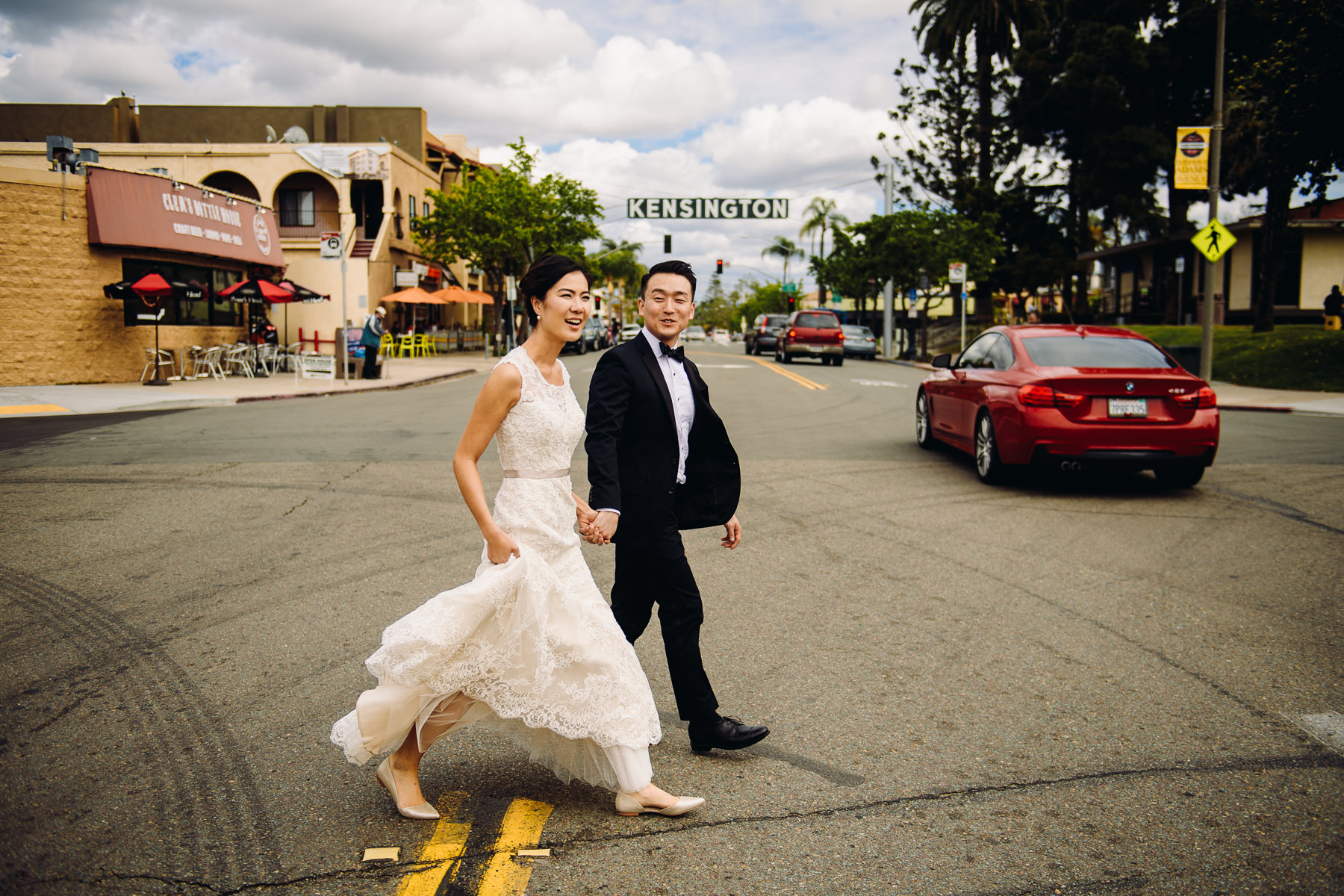 downtown kingston wedding photos