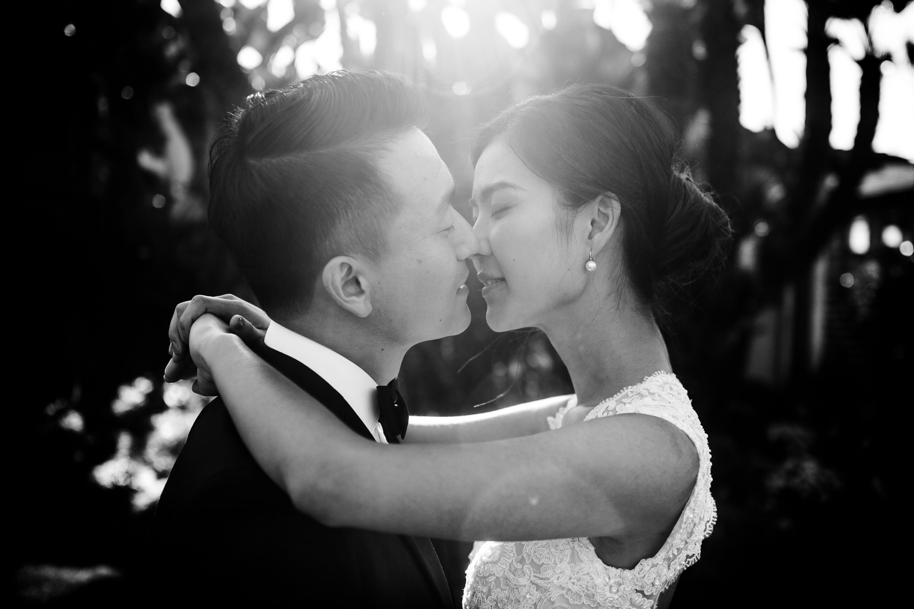San Diego bali hai restaurant wedding photos
