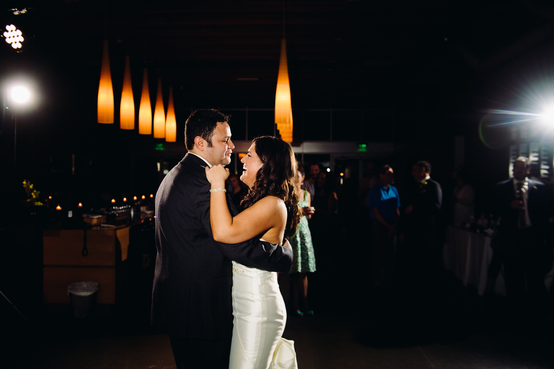 Novelty Hill Januik Winery first dance photo
