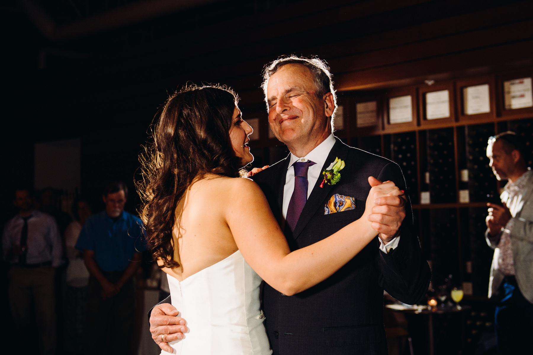 Novelty Hill Januik Winery father daughter dance
