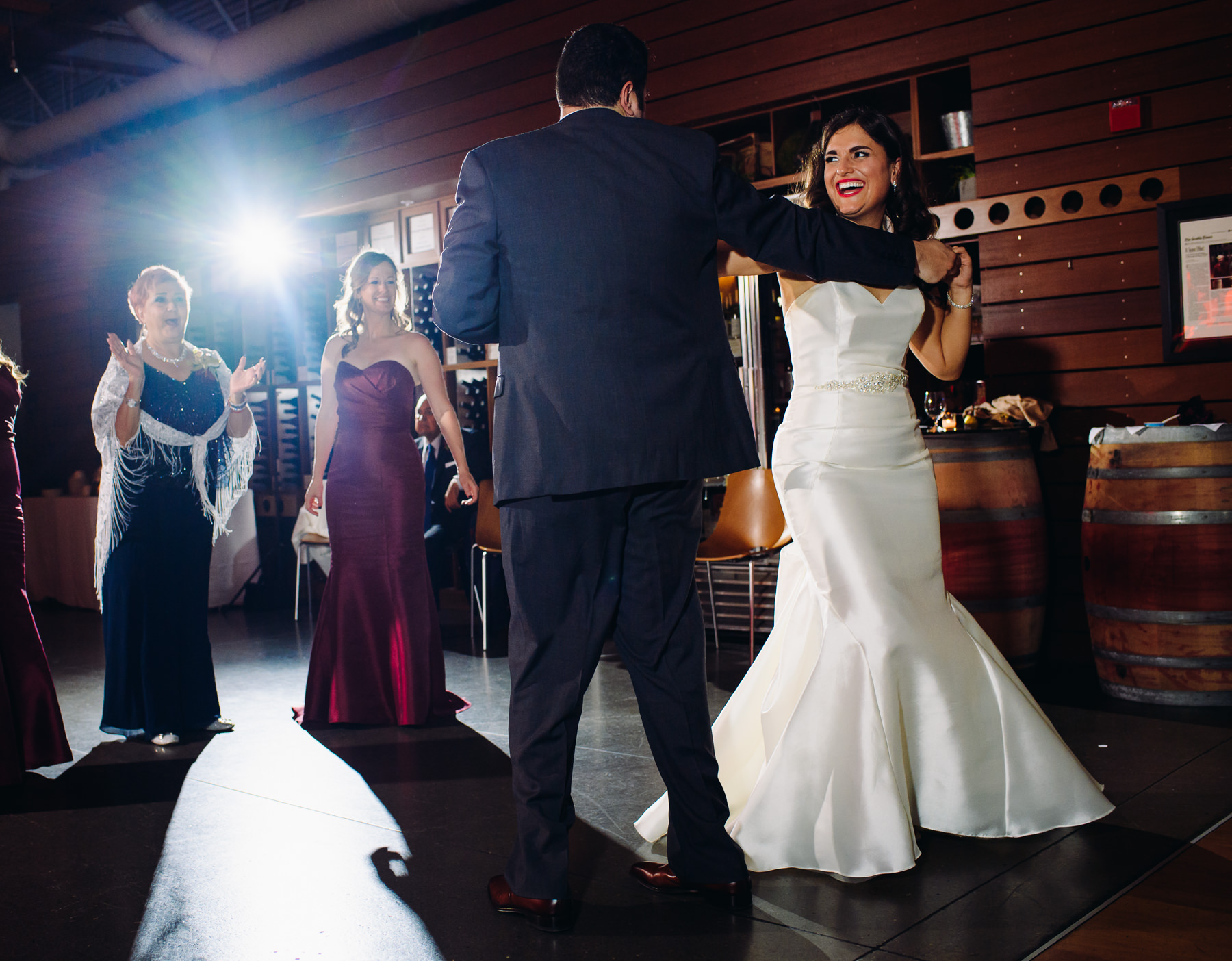 Novelty Hill Januik Winery Wedding