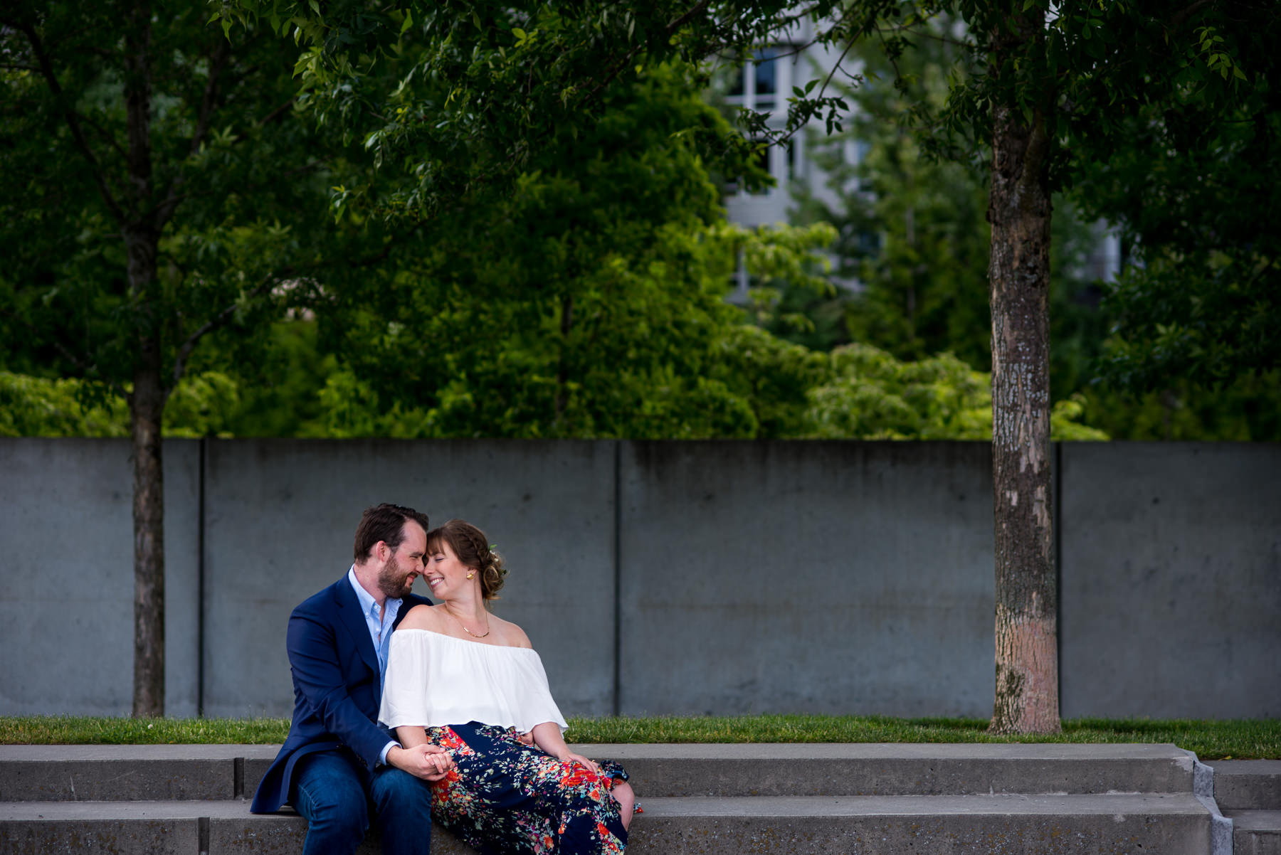 sculpture park engagement