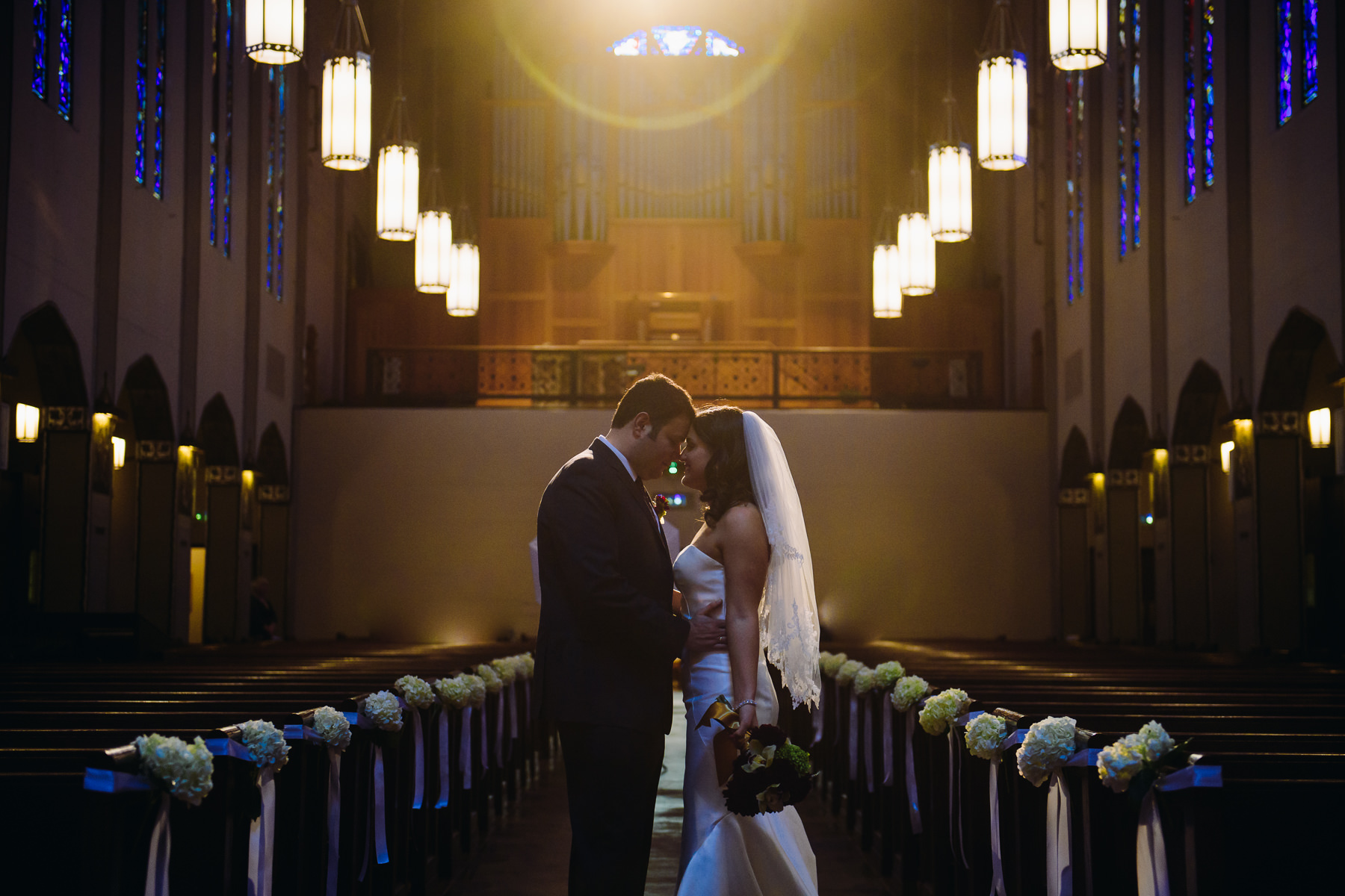 seattle St. Joseph Catholic Church wedding