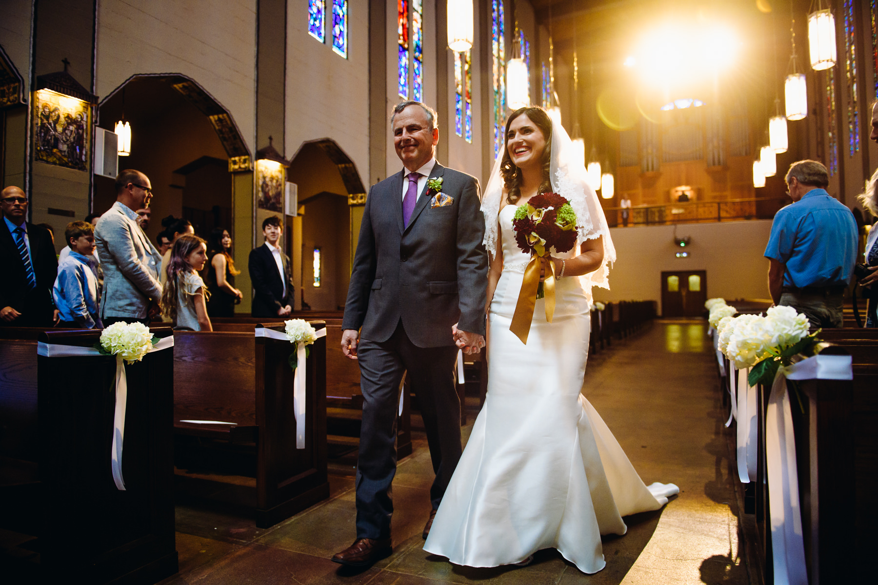 St. Joseph Catholic Church wedding ceremony