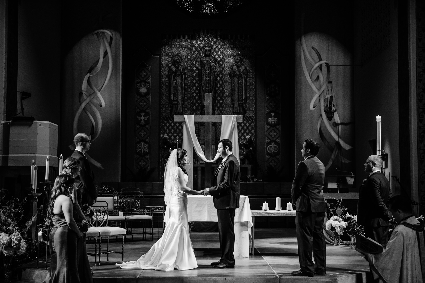 St. Joseph Catholic Church wedding
