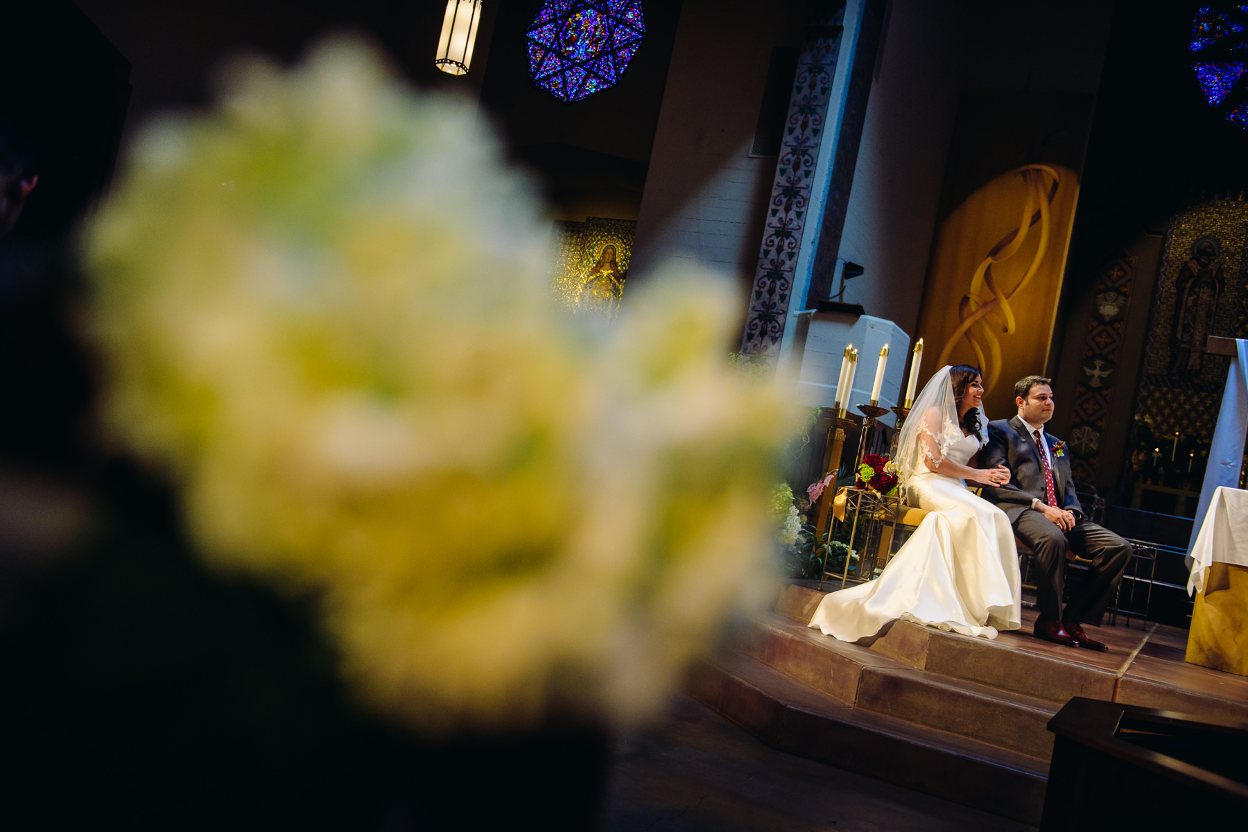 Seattle Wedding at St. Joseph Catholic Church