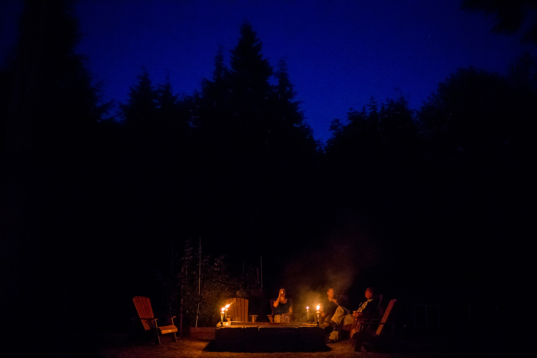 bellingham wedding fire pit