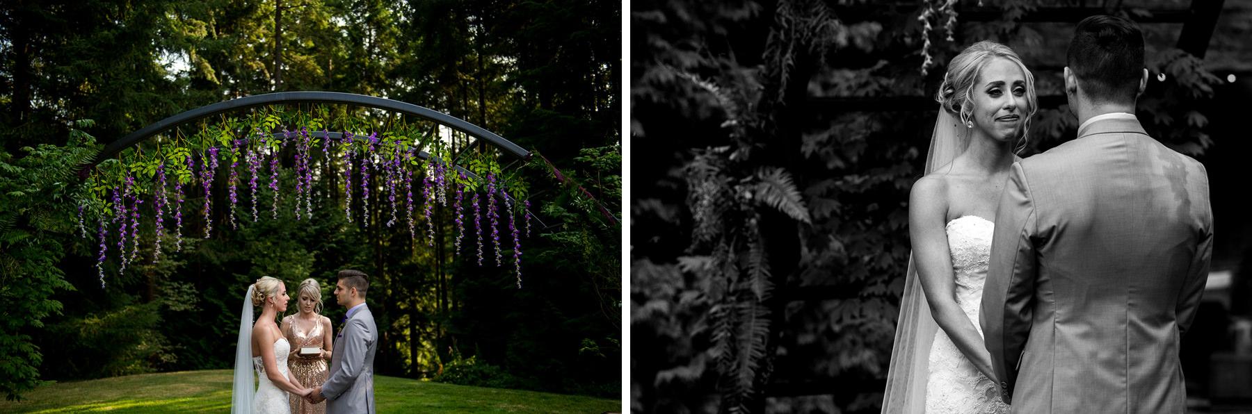 dragonfly retreat flower arch